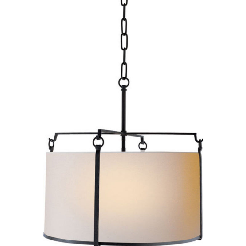 Visual Comfort S 5030BR-NP Ian K. Fowler Aspen Large Hanging Shade in Blackened Rust