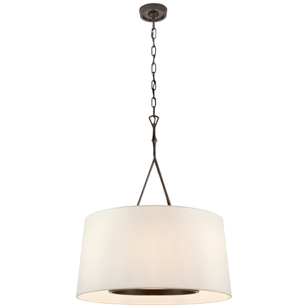 Visual Comfort S 5401AI-L Studio VC Dauphine Large Hanging Shade in Aged Iron