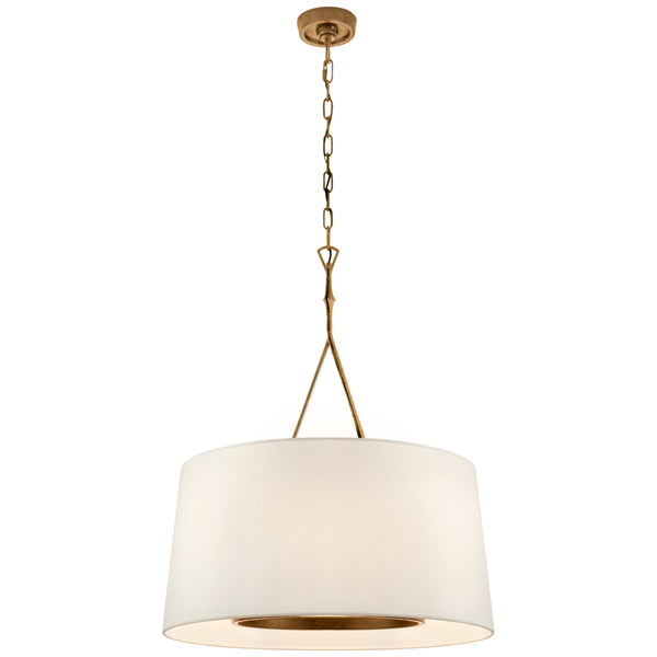 Visual Comfort S 5401GI-L Studio VC Dauphine Large Hanging Shade in Gilded Iron