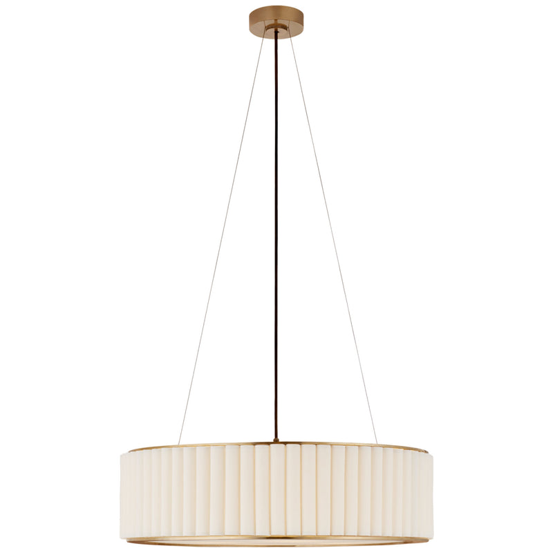 Visual Comfort S 5440HAB-L Ian K. Fowler Palati Large Hanging Shade in Hand-Rubbed Antique Brass