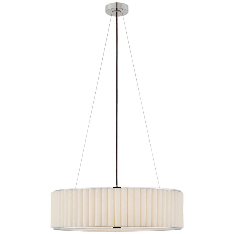 Visual Comfort S 5440PN-L Ian K. Fowler Palati Large Hanging Shade in Polished Nickel