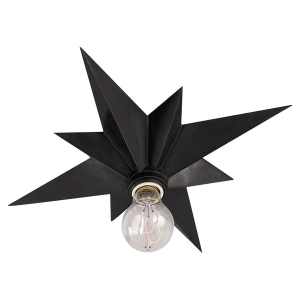 Visual Comfort SC 4000BZ Eric Cohler Casual Star Flush Mount in Bronze