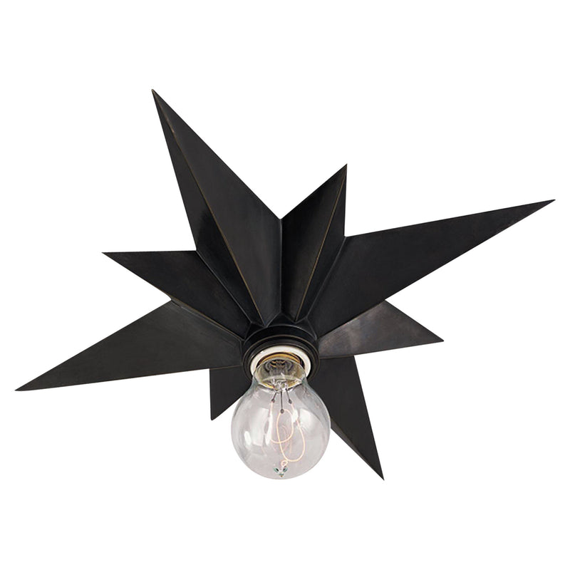Visual Comfort SC 4000BZ Eric Cohler Star Flush Mount in Bronze