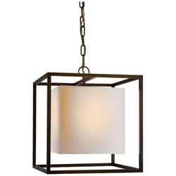 Visual Comfort SC 5159BZ Eric Cohler Caged Small Lantern in Bronze
