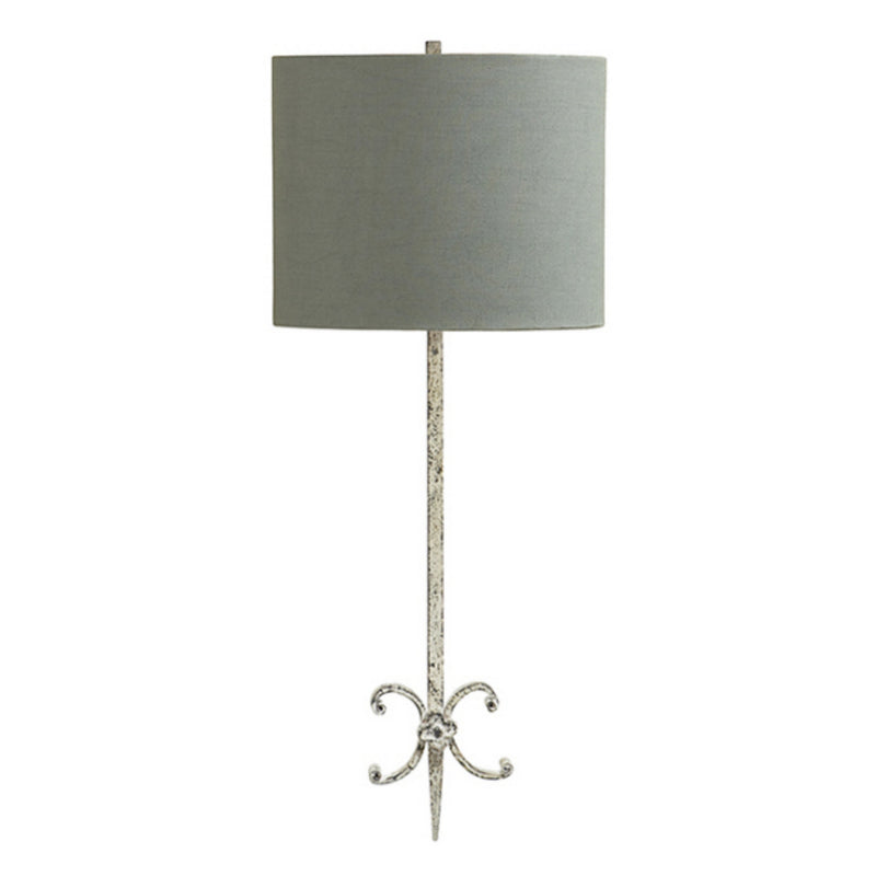 Visual Comfort SK 2009BW-BL Suzanne Kasler Roswell Sconce in Belgian White