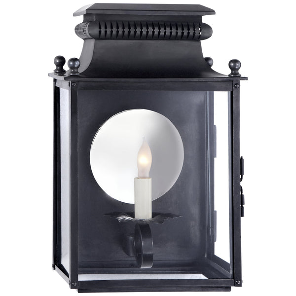 Visual Comfort SK 2325BC Suzanne Kasler Traditional Honore Small 3/4 Sconce in Blackened Copper