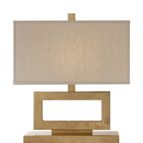 Visual Comfort SK 3207G-L Suzanne Kasler Modern Mod Low Table Lamp in Gild
