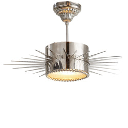 Visual Comfort SK 5201PN Suzanne Kasler Soleil Medium Semi-Flush in Polished Nickel