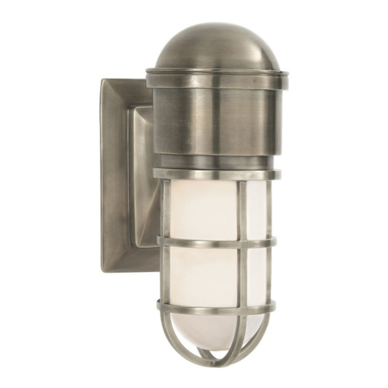 Visual Comfort SL 2000AN-WG Chapman & Myers Marine Wall Light in Antique Nickel