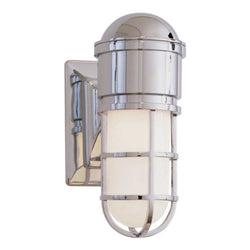 Visual Comfort SL 2000CH-WG Chapman & Myers Marine Wall Light in Chrome