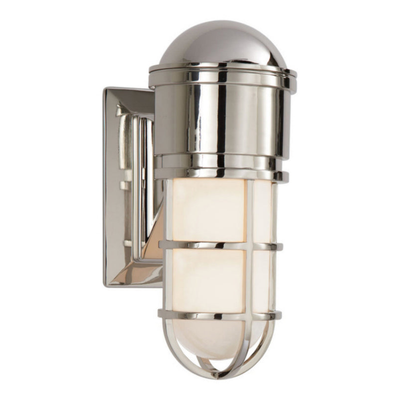 Visual Comfort SL 2000PN-WG Chapman & Myers Marine Wall Light in Polished Nickel