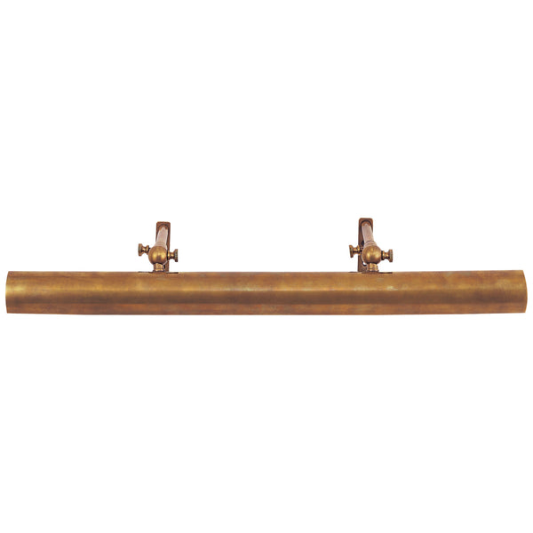 "Visual Comfort SL 2703HAB Chapman & Myers Frame Makers 24"" Picture Light in Hand-Rubbed Antique Brass"