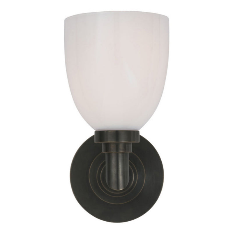 Visual Comfort SL 2841BZ-WG Chapman & Myers Wilton Single Bath Light in Bronze