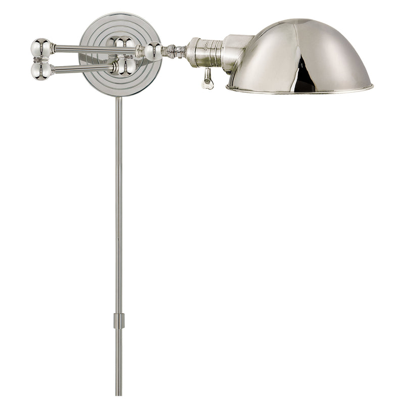 Visual Comfort SL 2920PN/SLG-PN Chapman & Myers Boston Swing Arm in Polished Nickel