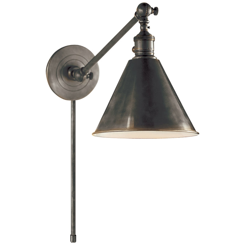 Visual Comfort SL 2922BZ Chapman & Myers Boston Functional Single Arm Library Light in Bronze