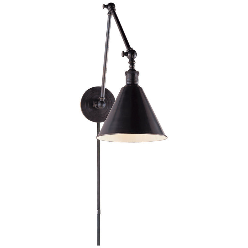 Visual Comfort SL 2923BZ Chapman & Myers Boston Functional Double Arm Library Light in Bronze