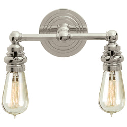 Visual Comfort SL 2932PN Chapman & Myers Boston Functional Double Light in Polished Nickel