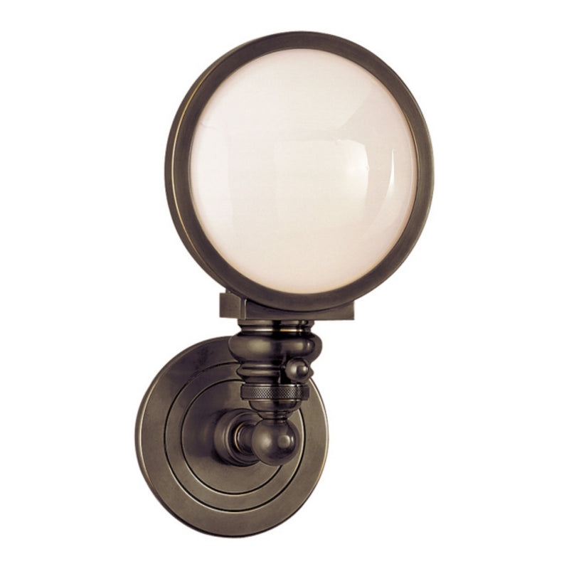 Visual Comfort SL 2935BZ-WG Chapman & Myers Boston Head Light Sconce in Bronze