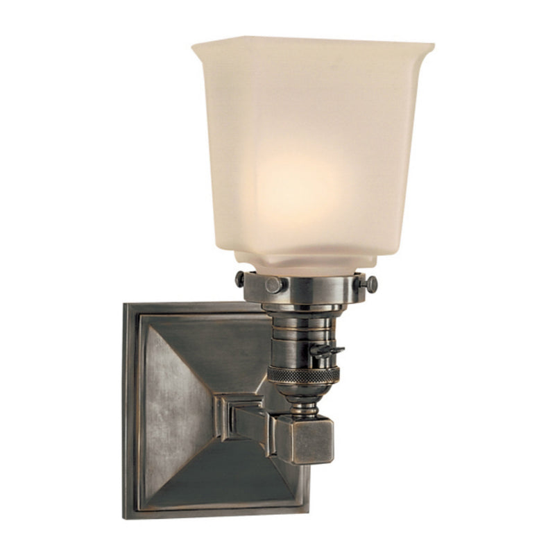 Visual Comfort SL 2941BZ-FG Chapman & Myers Boston Square Single Light in Bronze