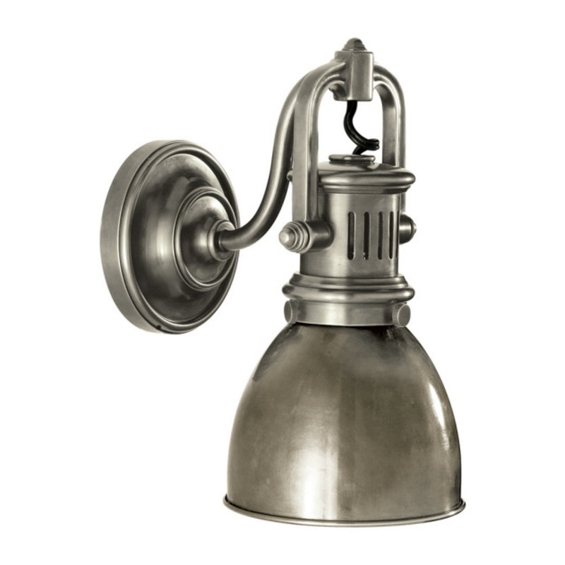 Visual Comfort SL 2975AN-AN Chapman & Myers Yoke Suspended Sconce in Antique Nickel