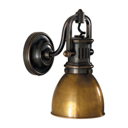Visual Comfort SL 2975BZ-HAB Chapman & Myers Yoke Suspended Sconce in Bronze