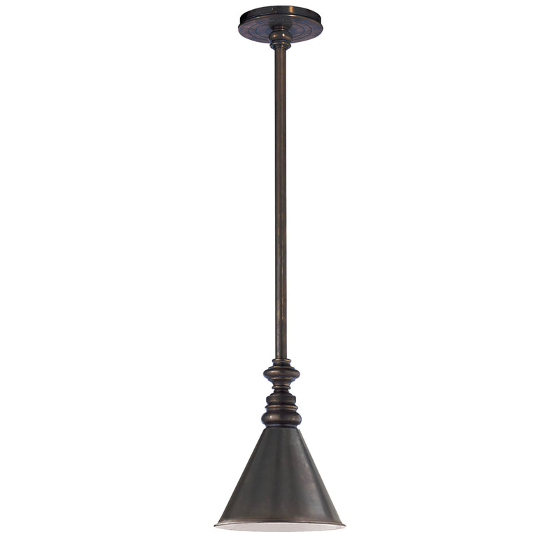 Visual Comfort SL 5125BZ/SLD-BZ Chapman & Myers Boston Pendant in Bronze