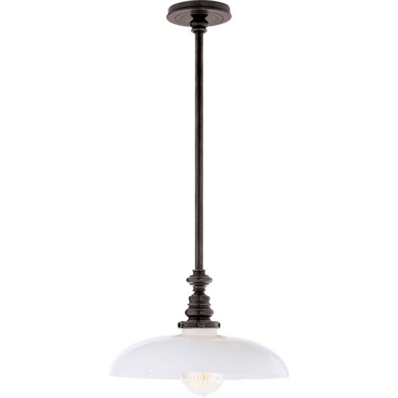 Visual Comfort SL 5125BZ-WG2 Chapman & Myers Boston Pendant in Bronze