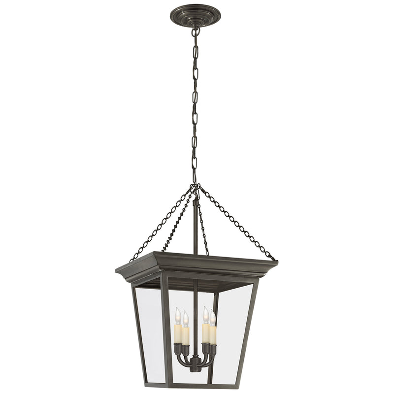 Visual Comfort SL 5871BZ Chapman & Myers Cornice Small Lantern in Bronze