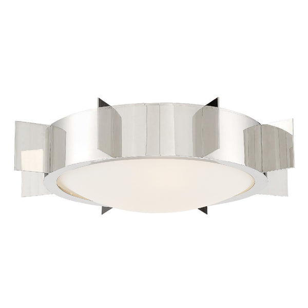 Crystorama SOL-A3103-PN Solas Ceiling Mount in Polished Nickel