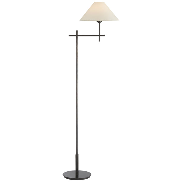 Visual Comfort SP 1023BZ-NP J. Randall Powers Hackney Bridge Arm Floor Lamp in Bronze
