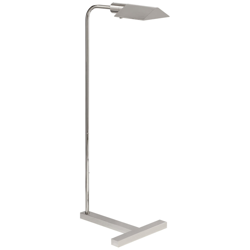 Visual Comfort SP 1508PN J. Randall Powers William Pharmacy Floor Lamp in Polished Nickel