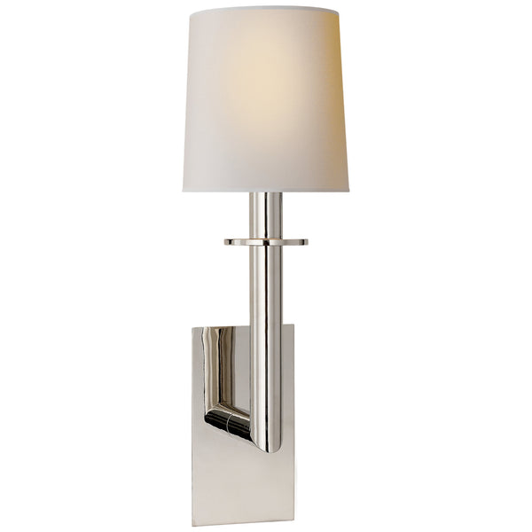 Visual Comfort SP 2017PN-NP J. Randall Powers Dalston Sconce in Polished Nickel