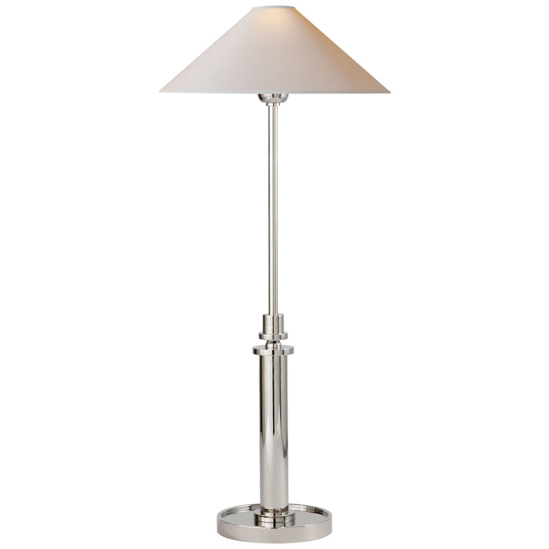 Visual Comfort SP 3011PN-NP J. Randall Powers Hargett Buffet Lamp in Polished Nickel