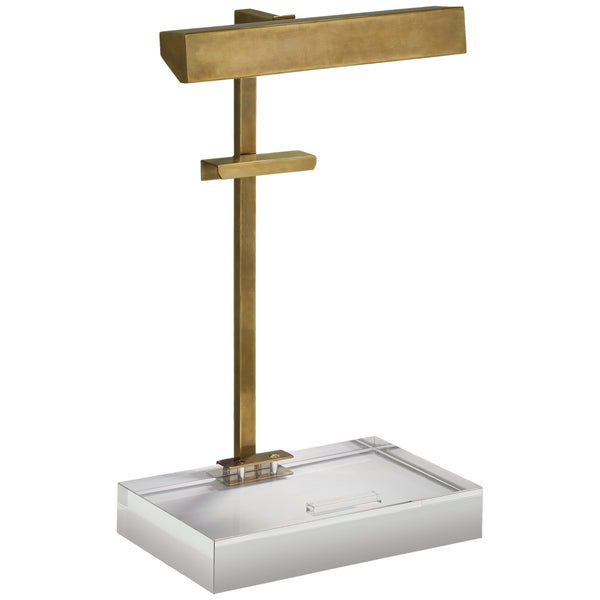 Visual Comfort SP 3041HAB J. Randall Powers McClean Easel Light in Hand-Rubbed Antique Brass