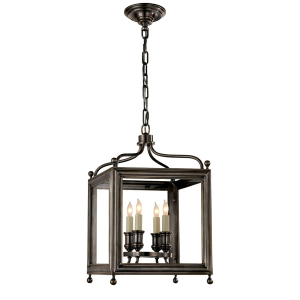 Visual Comfort SP 5001BZ J. Randall Powers Greggory Small Lantern in Bronze