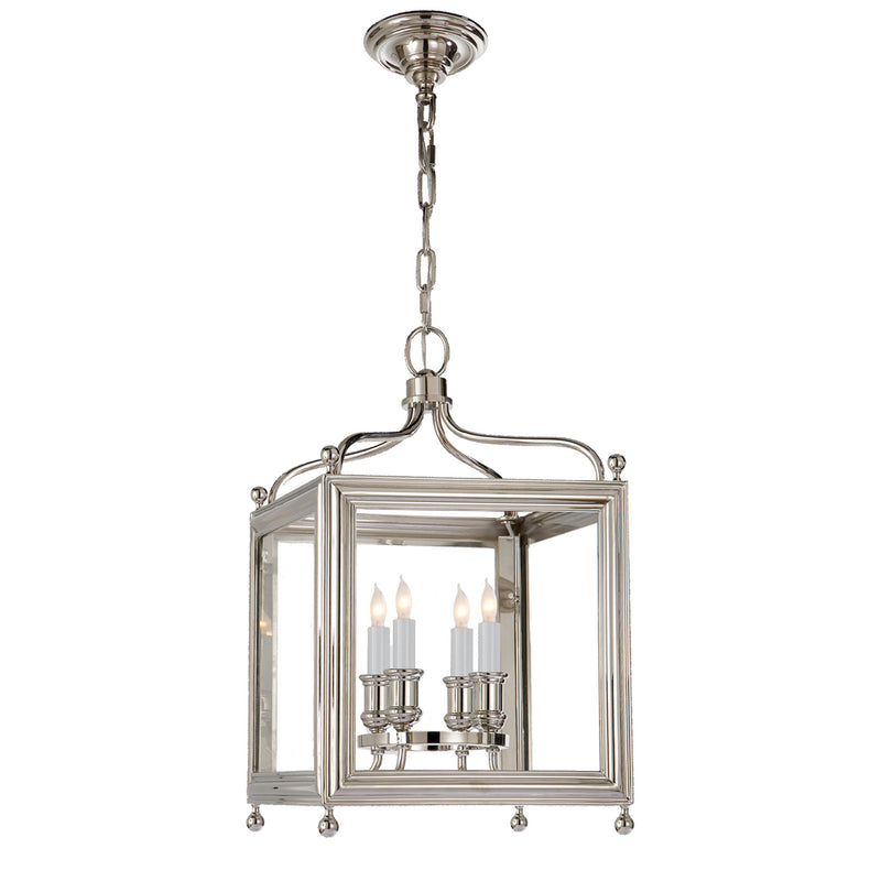 Visual Comfort SP 5001PN J. Randall Powers Greggory Small Lantern in Polished Nickel