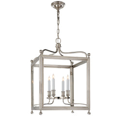 Visual Comfort SP 5002PN J. Randall Powers Greggory Medium Lantern in Polished Nickel