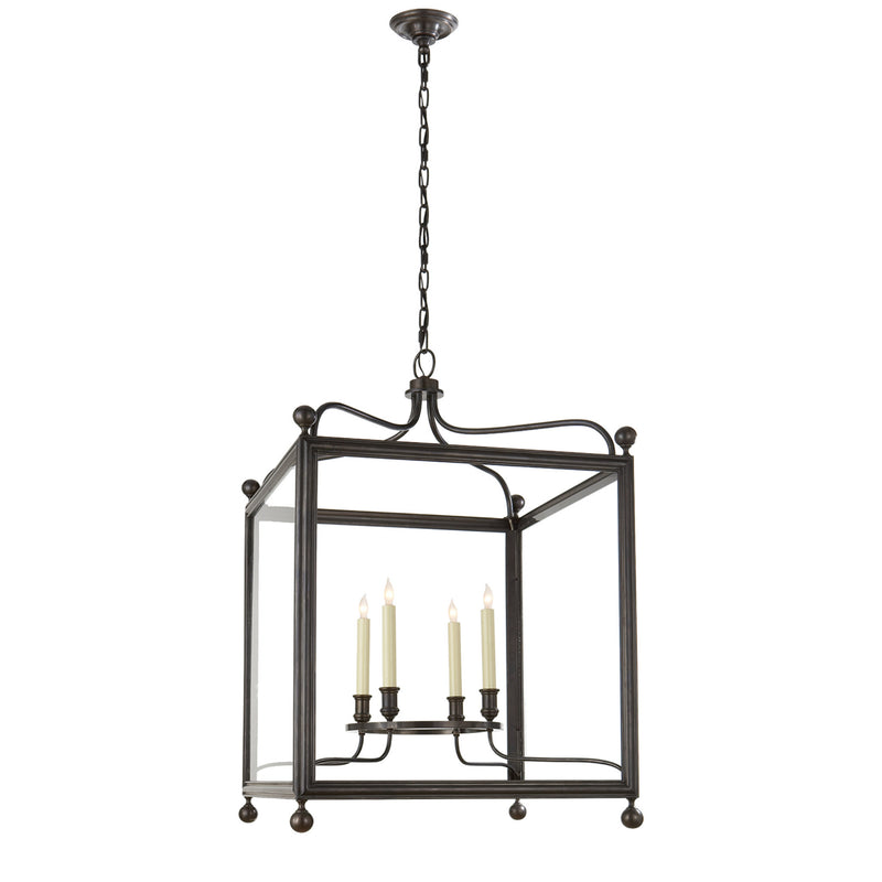Visual Comfort SP 5003BZ J. Randall Powers Greggory Large Lantern in Bronze