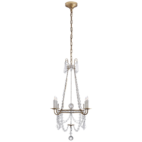 Visual Comfort SP 5030GI-CG J. Randall Powers Sharon Small Chandelier in Gilded Iron