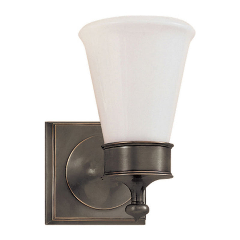 Visual Comfort SS 2001BZ-WG Studio VC Siena Single Sconce in Bronze