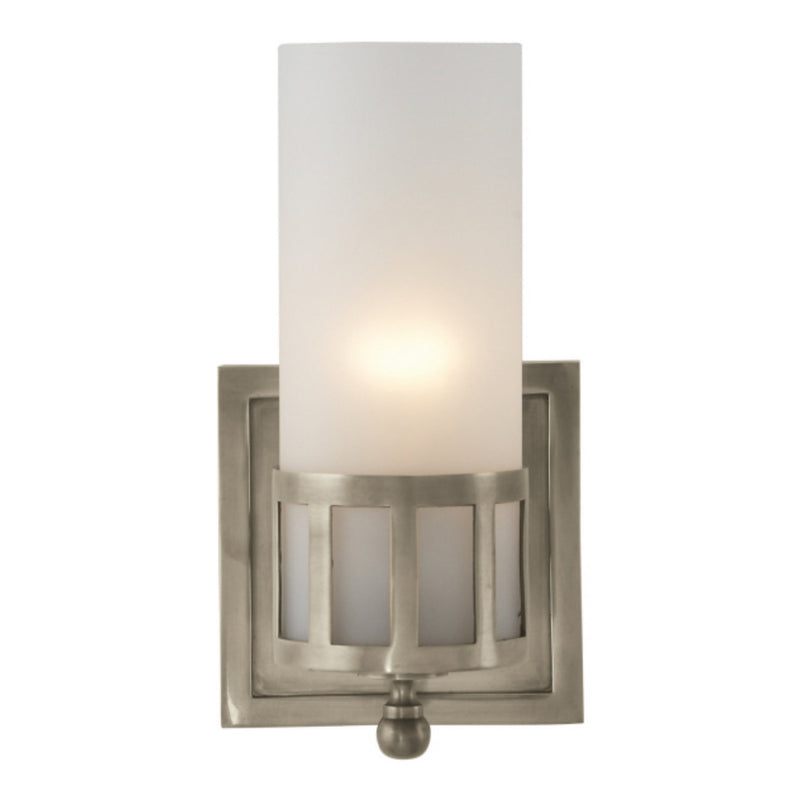 Visual Comfort SS 2011AN-FG Studio VC Openwork Single Sconce in Antique Nickel
