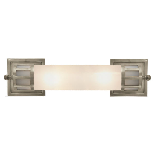 Visual Comfort SS 2013AN-FG Studio VC Openwork Medium Sconce in Antique Nickel