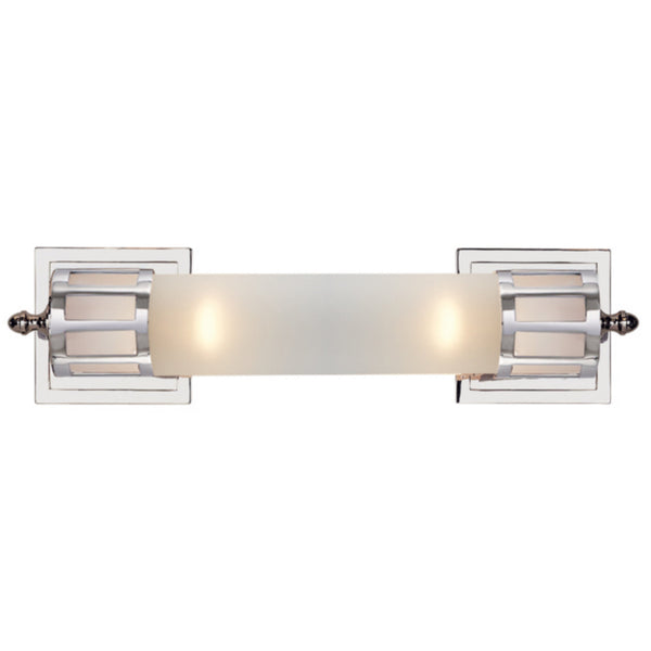 Visual Comfort SS 2013CH-FG Studio VC Openwork Medium Sconce in Chrome