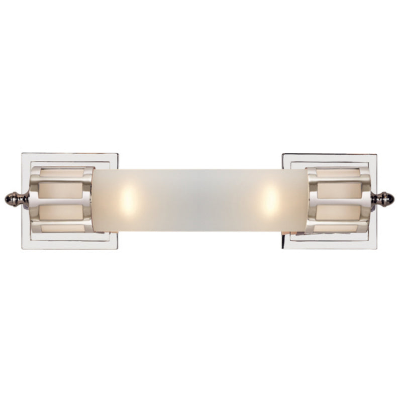 Visual Comfort SS 2013PN-FG Studio VC Openwork Medium Sconce in Polished Nickel