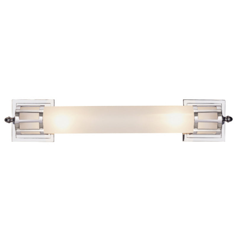 Visual Comfort SS 2014CH-FG Studio VC Openwork Long Sconce in Chrome