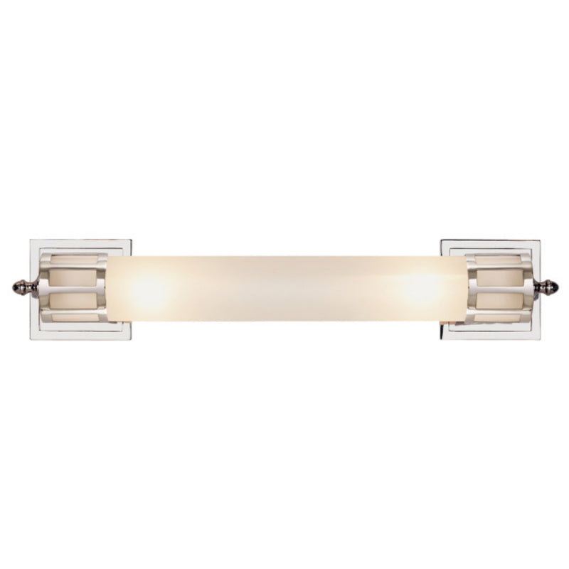 Visual Comfort SS 2014PN-FG Studio VC Openwork Long Sconce in Polished Nickel