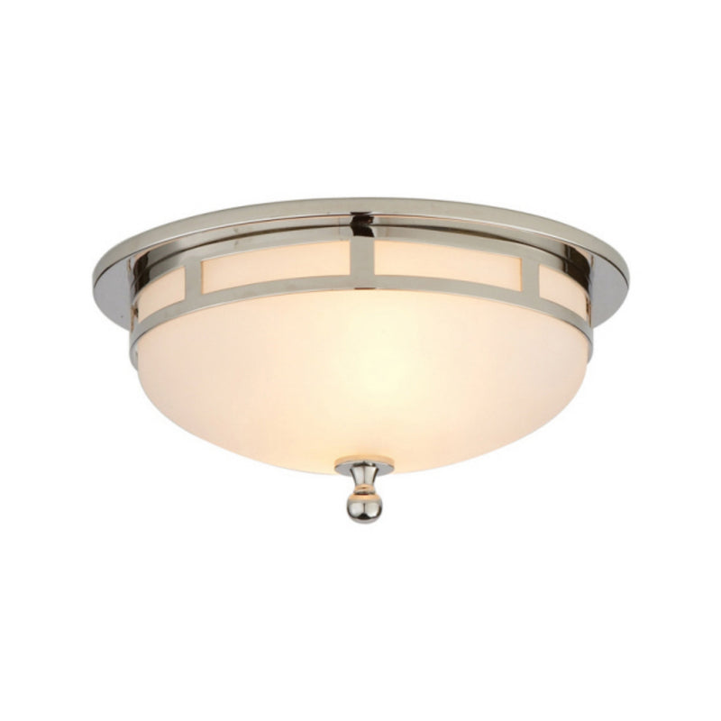Visual Comfort SS 4010CH-FG Studio VC Openwork Small Flush Mount in Chrome
