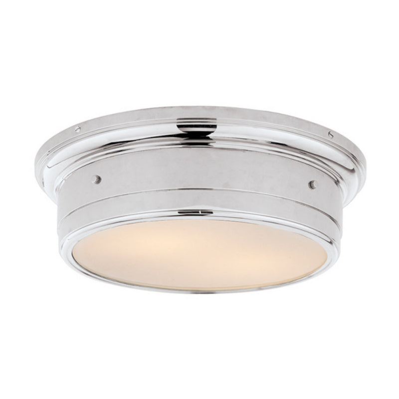 Visual Comfort SS 4016CH-WG Studio VC Siena Large Flush Mount in Chrome