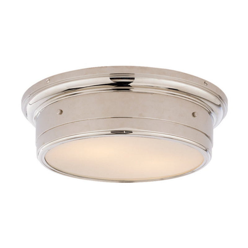 Visual Comfort SS 4016PN-WG Studio VC Siena Large Flush Mount in Polished Nickel