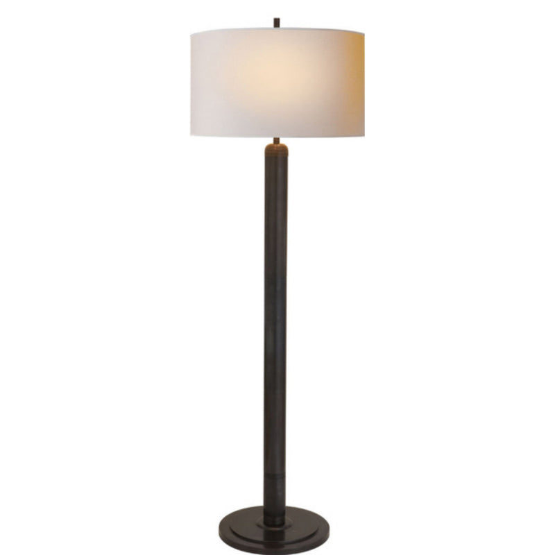Visual Comfort TOB 1000BZ-NP Thomas O'Brien Longacre Floor Lamp in Bronze